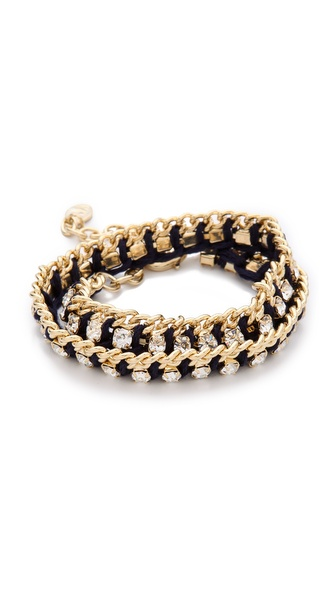 Club Monaco Crystal Thread Bracelet