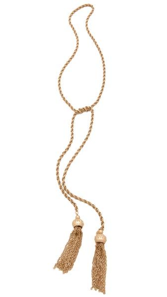 Club Monaco Selma Lariat Necklace