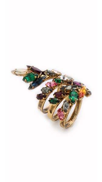 Club Monaco Cluster Ring by Erickson Beamon for Club Monaco