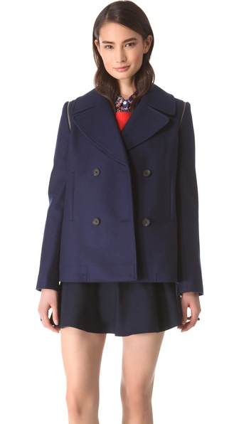 Club Monaco Akira Pea Coat