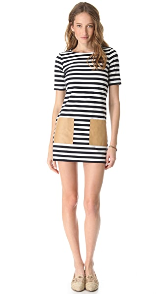 Club Monaco Haley Striped Dress