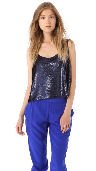 Club Monaco Mason Sequin Tank