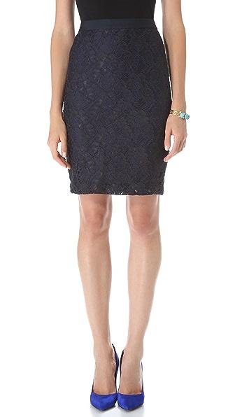 Club Monaco Charlotte Lace Skirt