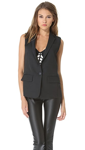 Club Monaco Maya Sleeveless Blazer