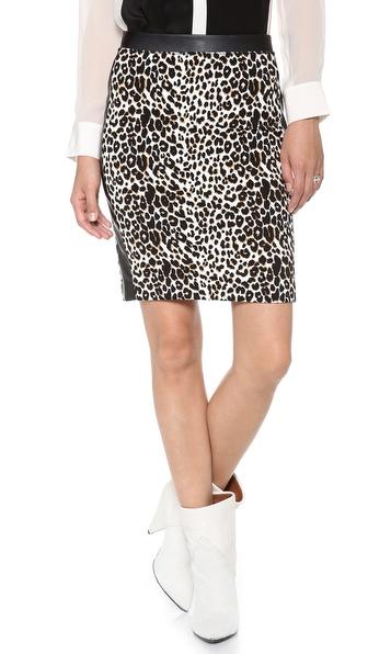 Club Monaco Violet Knit Skirt