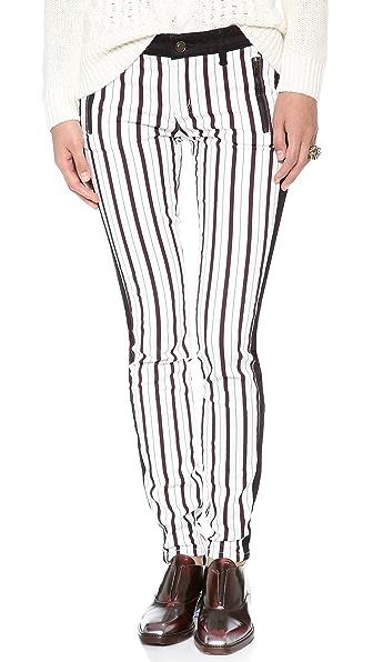 Club Monaco Madilyn Skinny Tuxedo Pants