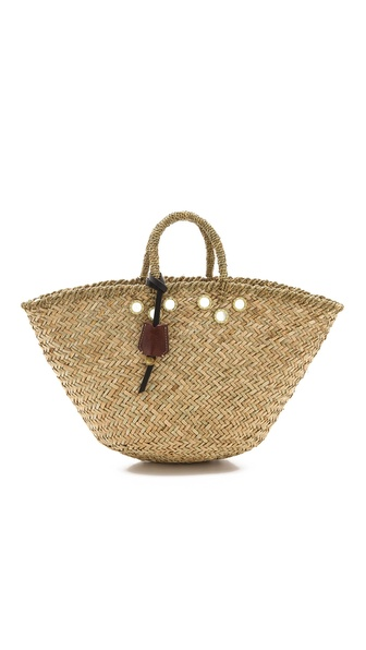 Club Monaco Jane Mayle Straw Tote