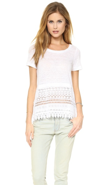 Club Monaco Matalin Lace Top