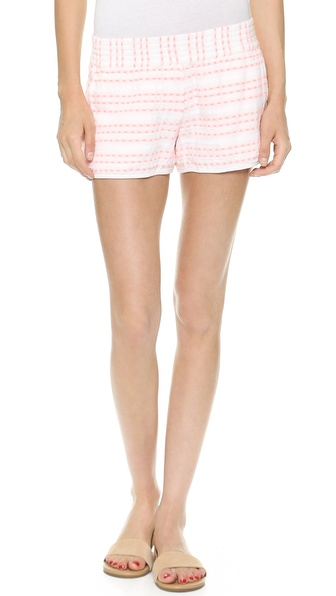 Club Monaco Megan Embroidered Shorts