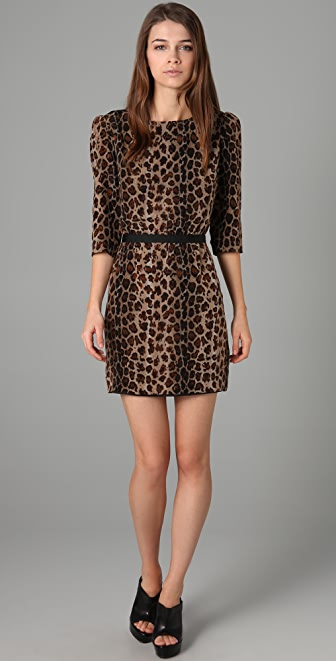 camilla and marc Blind Call Leopard Dress