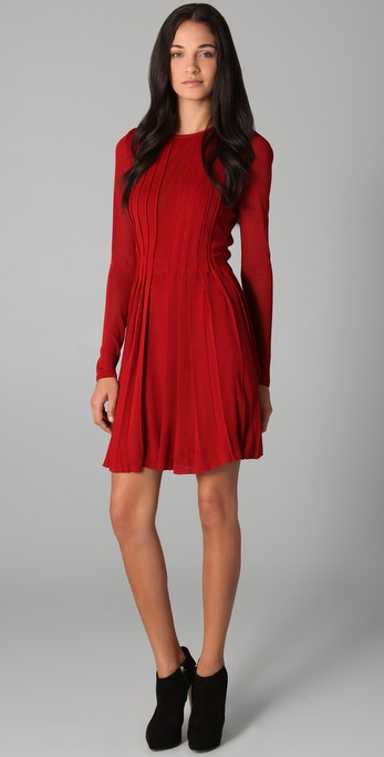 camilla and marc Little Scarlet Pleated Dress