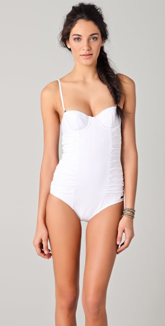camilla and marc Textured Underwire One Piece