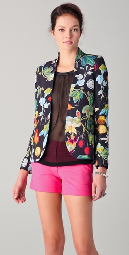 camilla and marc Rhapsody Botanical Print Blazer