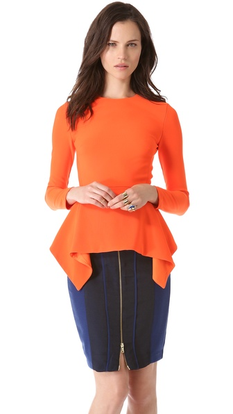 Fly By Night Ponte Top :  blouse shopbop top style