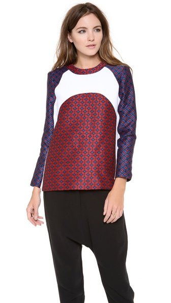 camilla and marc Versemaker Contrast Top