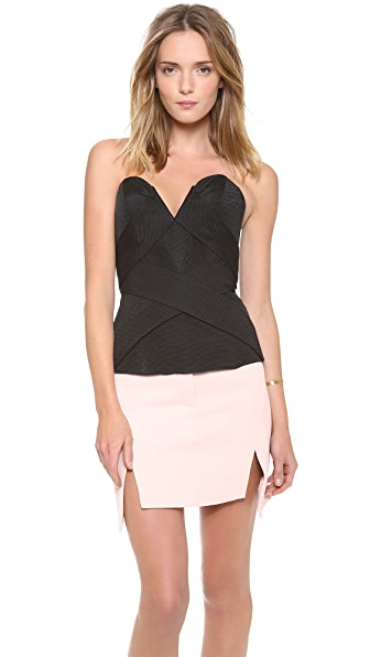 camilla and marc Interchange Bias Band Bustier Top