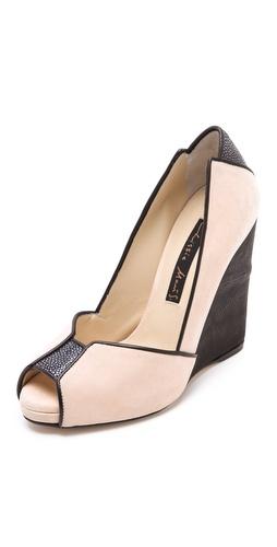 Chrissie Morris Metropolis Wedge Heels