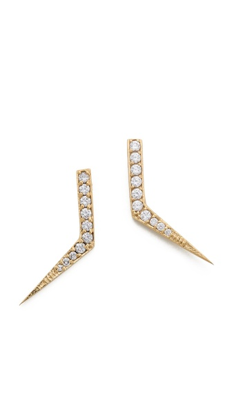 Campbell Flame Stud Earrings