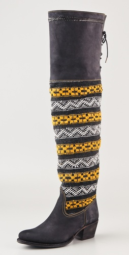Cobra Society Zeus Over the Knee Suede Boots