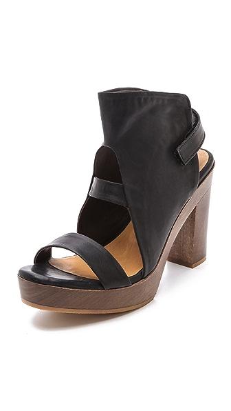 Coclico Shoes Sone Wooden Sandals
