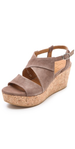 Coclico Shoes Melania Cork Platform Sandals at Shopbop / East Dane