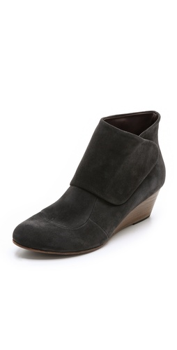 Coclico Shoes Kiera Suede Wedge Booties at Shopbop / East Dane