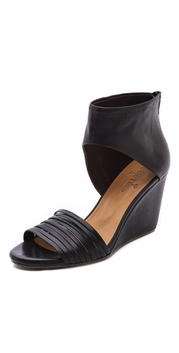 Kupi Coclico Shoes cipele online i raspordaja za kupiti Luxe leather Coclico sandals styled with a strappy vamp and solid ankle cuff. Exposed back zip. Leather sole.  Leather: Calfskin. Made in Spain. This item cannot be gift-boxed.  MEASUREMENTS Heel: 3in / 75mm - Black