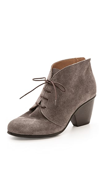 Coclico Shoes Danette Suede Lace Up Booties