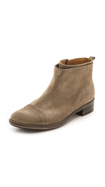 Coclico Shoes Roux Suede Flat Booties