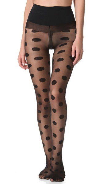 Commando Polka Dot Tights