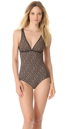 Shop Commando Crochet Reversible Maillot and Commando online - Apparel, Womens, Swim, Swim,  online Store