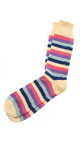 Corgi 5 Color Stripe Socks