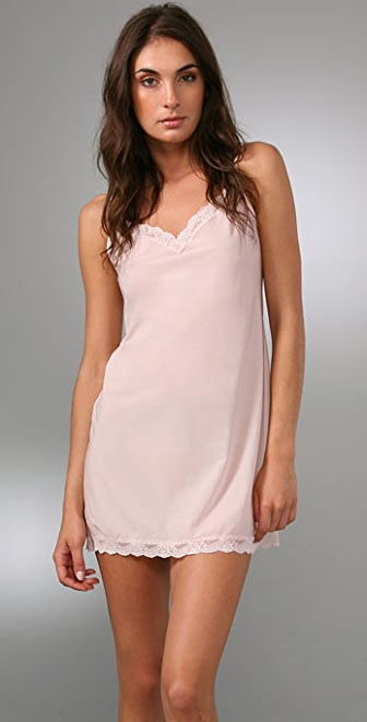 Cosabella Aire Chemise with Lace Trim