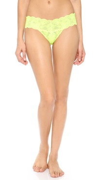 Cosabella Never Say Never Fluorescent Cutie Low Rise Thong