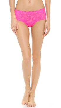 Cosabella Glow for a Cure! Never Say Never Hottie Low Rise Hotpants