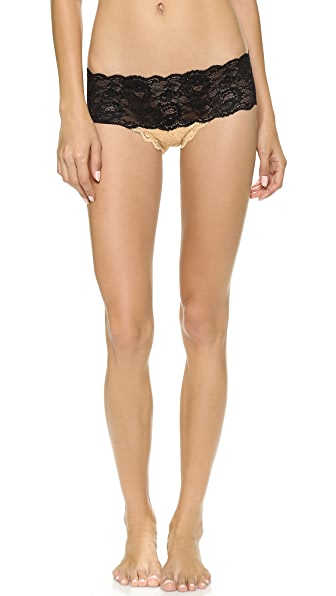 Cosabella Never Say Never Two Tone Low Rise Briefs