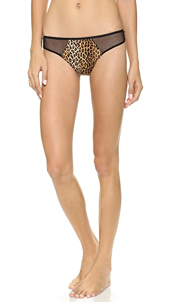 Cosabella Queen of Spades Print Low Rise Thong