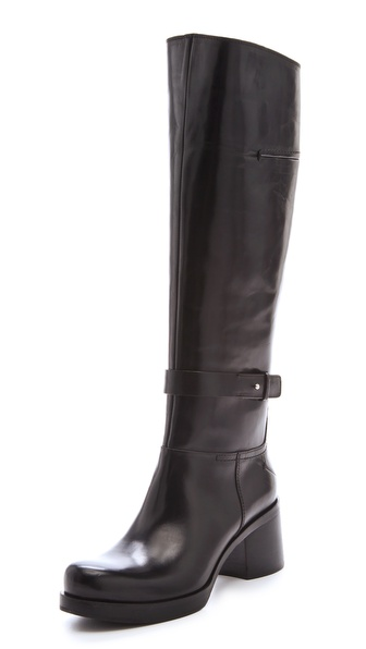 CoSTUME NATIONAL Mid Heel Wraparound Boots