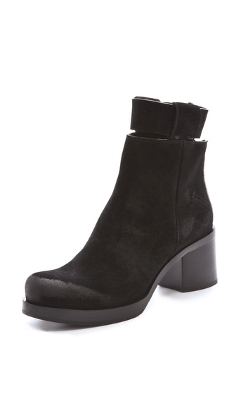 CoSTUME NATIONAL Zip Up Ankle Booties