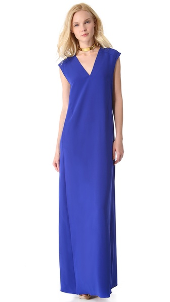 CoSTUME NATIONAL Sleeveless Gown with Pockets