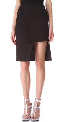 CoSTUME NATIONAL Waist Buckle Skirt