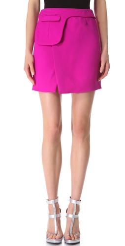 CoSTUME NATIONAL Fuchsia Miniskirt