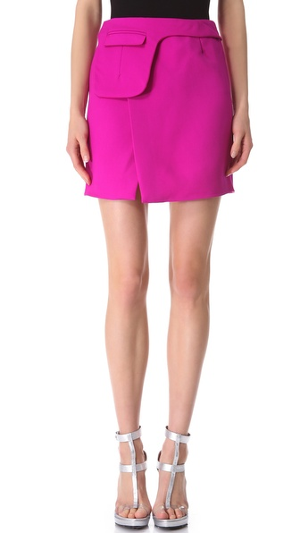 CoSTUME NATIONAL Fuchsia Miniskirt