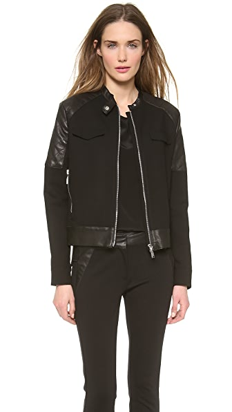 CoSTUME NATIONAL Biker Jacket