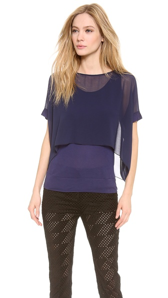 CoSTUME NATIONAL Layered T-Shirt
