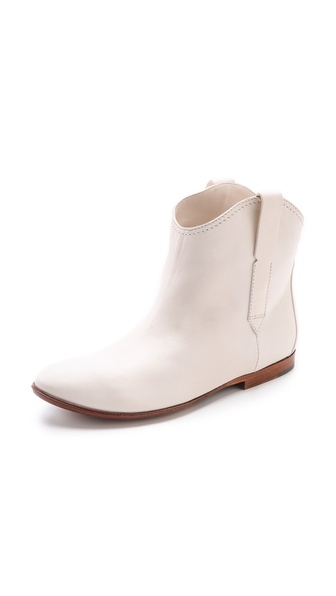 Costume National Leather Boots - White at Shopbop / East Dane