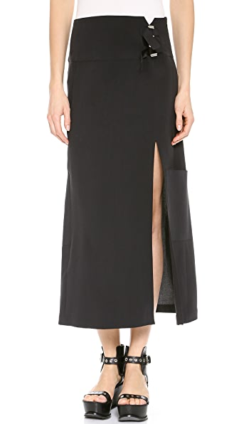 CoSTUME NATIONAL Long Skirt with Split