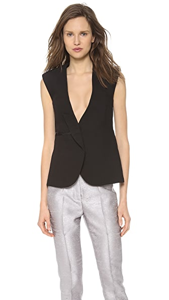 CoSTUME NATIONAL Sleeveless Fit Jacket