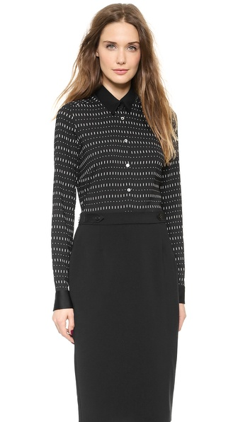 CoSTUME NATIONAL Long Sleeve Button Down