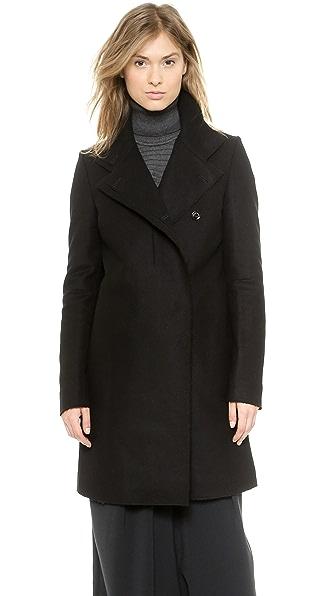 Пальто с необработанными краями CoSTUME NATIONAL